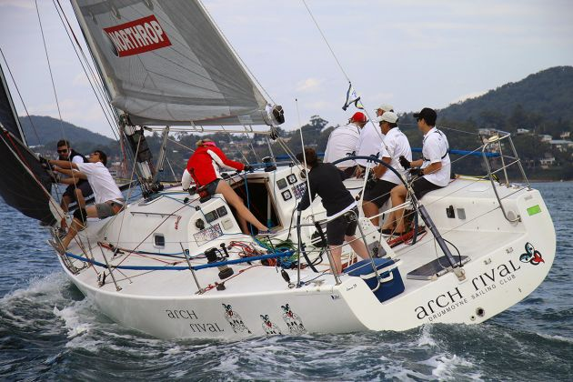 Arch Rival at Sail Port Stephens 2016. Photo supplied.