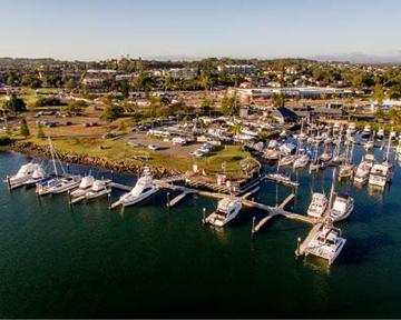 Port Macquarie Marina. Photo Bellingham Marine.