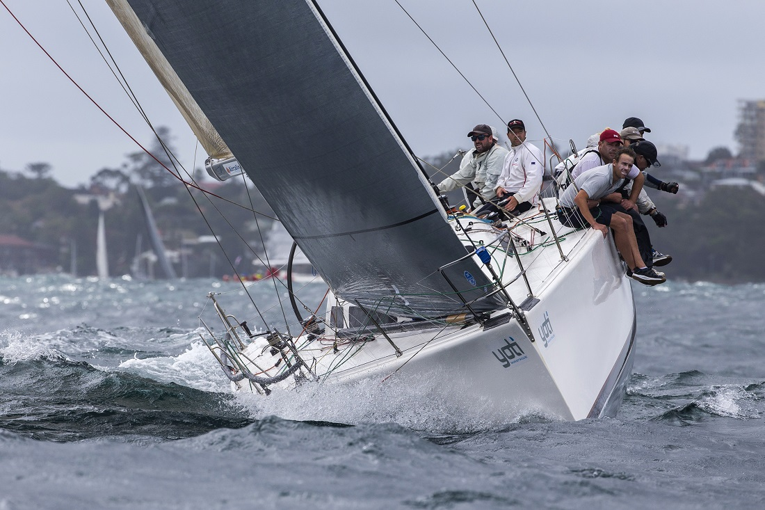 Ikon38 wins the Sydney 38 International series. Photo Andrea Francolini.