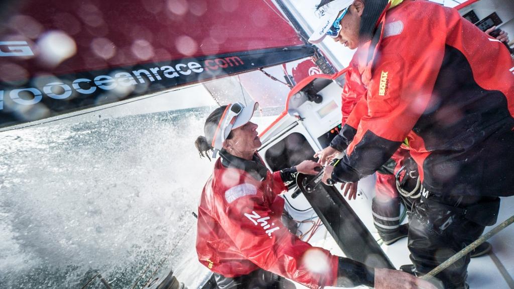 Martin Keruzoré/Volvo Ocean race.