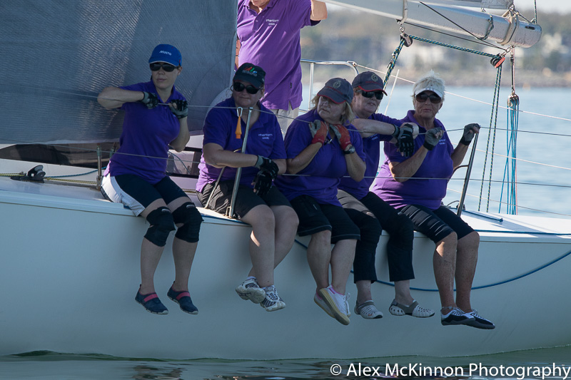 Port Phillip Women's Championship Series. Photo Alex MacKinnon.