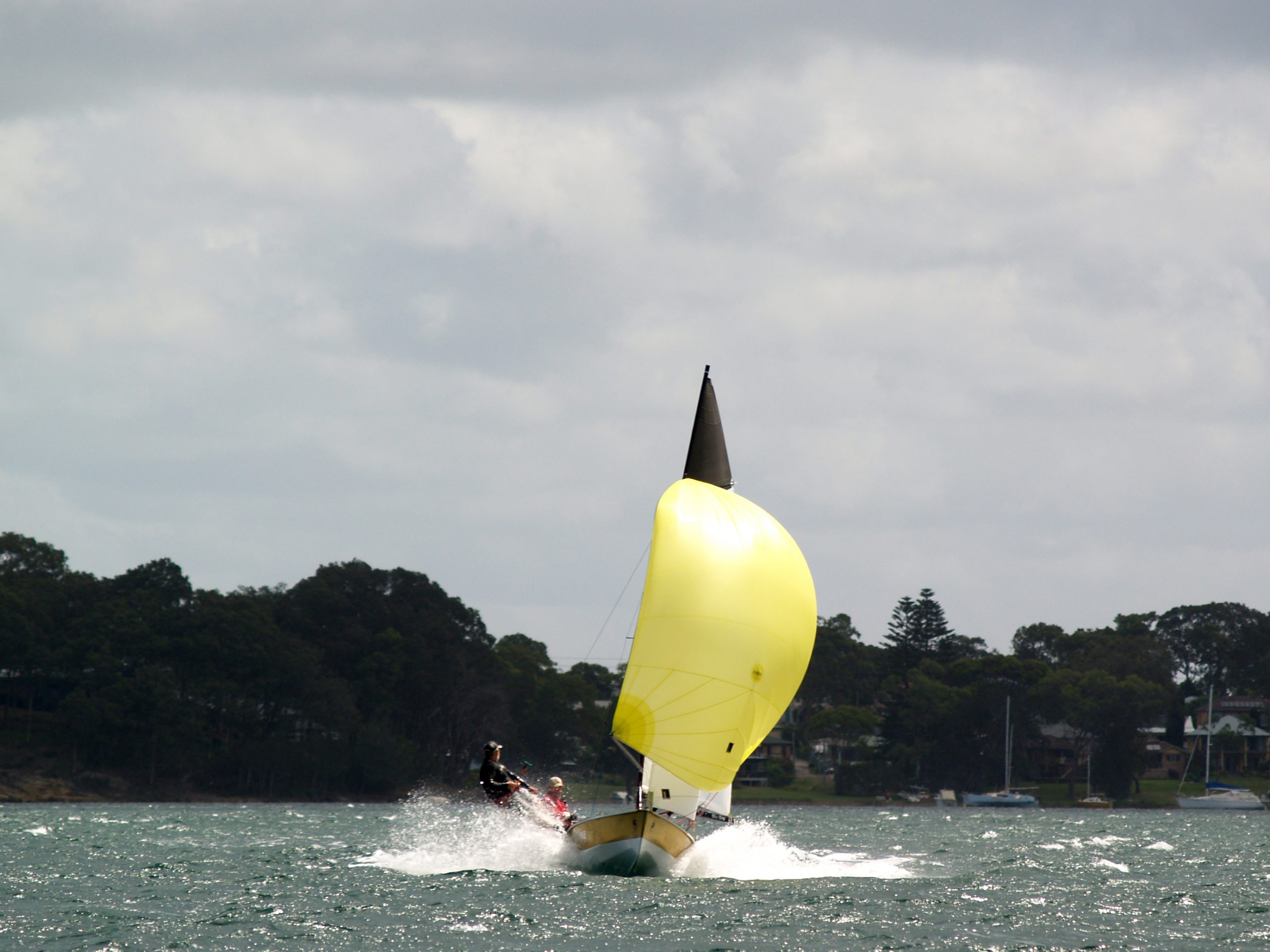 Racing at the 2017 E Class Nationals. Photo supplied by E Class.