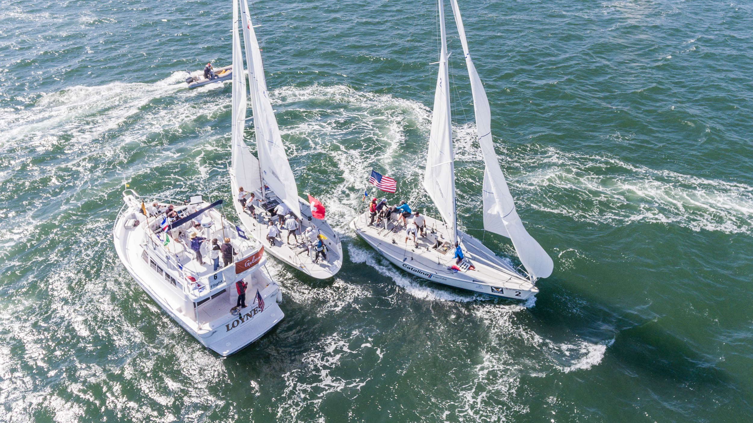 Racing at the Congressional Cup. Photo WMRT.