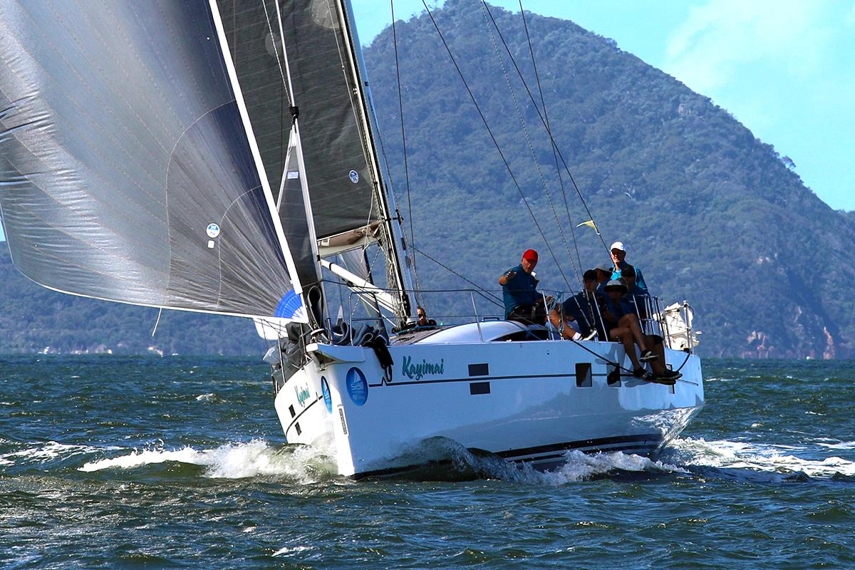 Kayimai at Sail Port Stephens. Photo Sail Port Stephens.