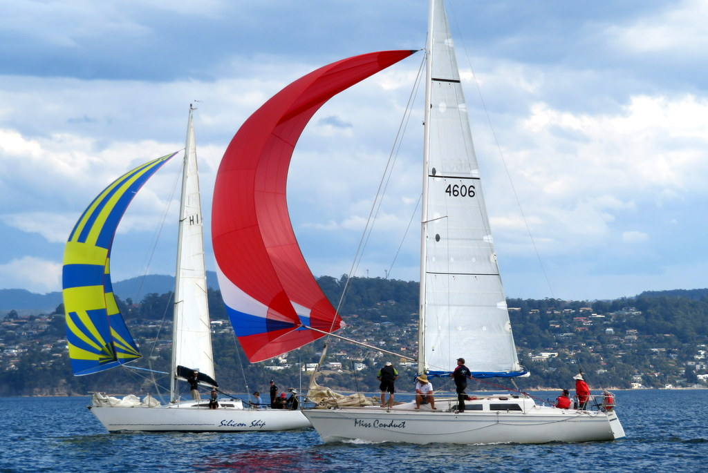 Betsey Island Race. Photo Peter Campbell.