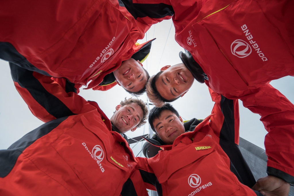 The Chinese Under 30s. Photo Yann Riou / Dongfeng Race Team.