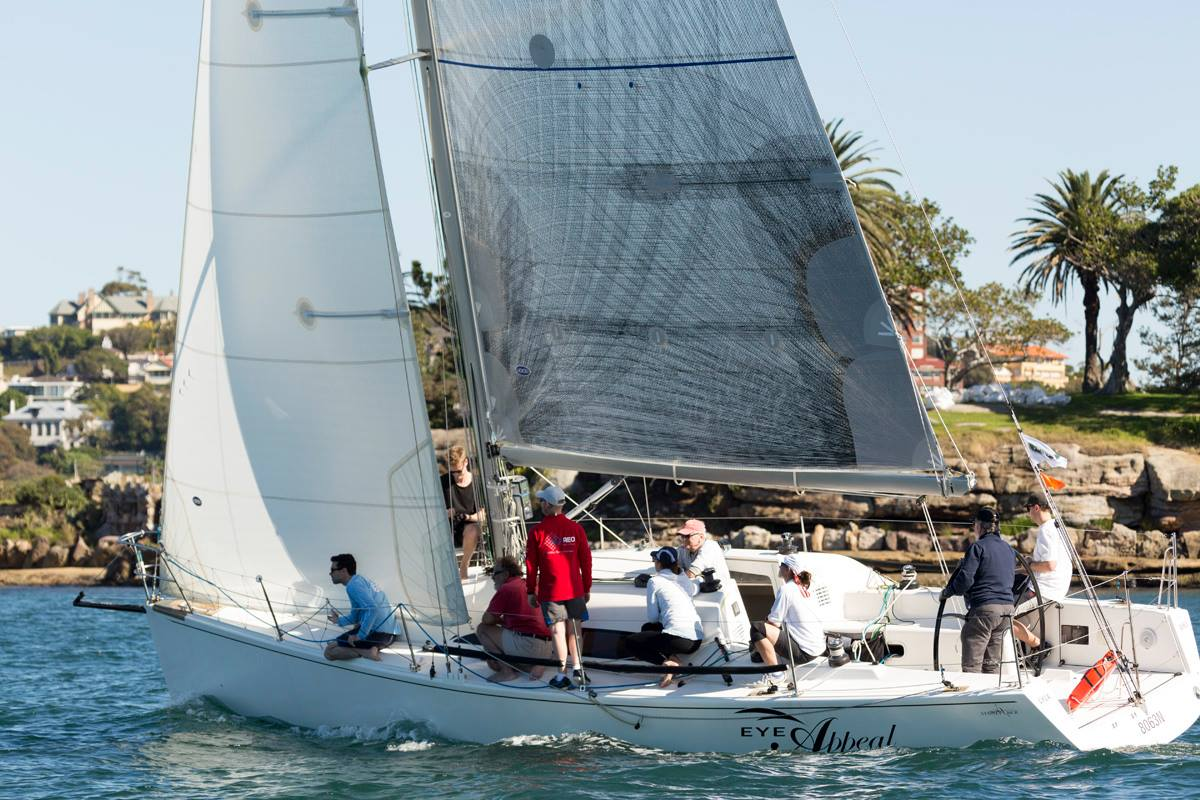 CYCA Commodore John Markos and Michael Delaney's Sydney 36CR Eye Appeal – Credit - David Brogan