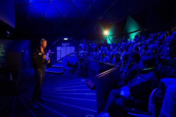 Sailors tell of their experiences in the Vovlo Ocean Race. Photo Victor Fraile / Volvo Ocean Race .