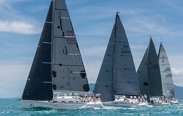 The racing remains exceptionally close in IRC One. Day 3