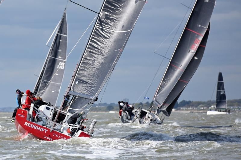 Taking on the Rolex Fastnet Race two-handed. Redshift Reloaded