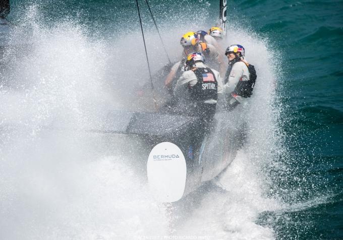 Oracle America's Cup Bermuda. Photo Ricardo Pinto /ACEA.