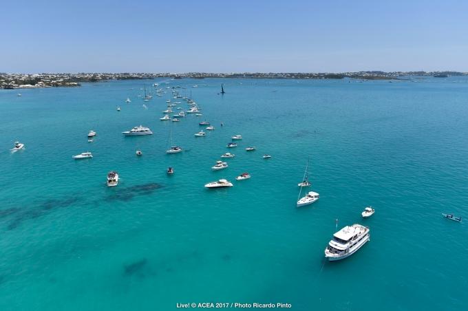 No racing in Bermuda. Photo Ricardo Pinto/ACEA.