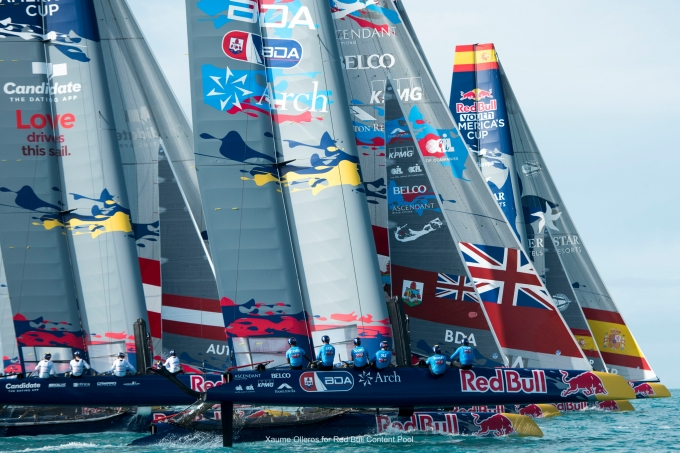 Youth America's Cup. Photo Xaume Olleros/Red Bull.