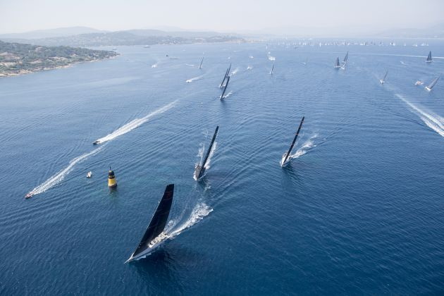 The start of the Giraglia Rolex Cup. Photo supplied.
