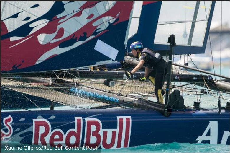 Artemis at the Youth America's Cup. Photo Xuame Olleros/Red Bull/