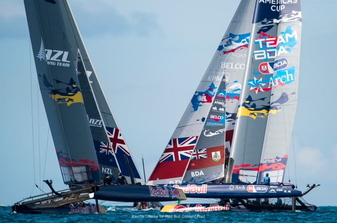 Red Bull Youth America's Cup. Photo Xaume Olleros .
