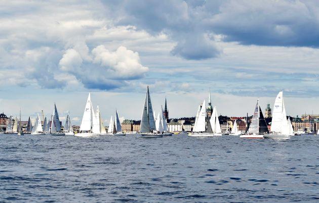 ÅF Offshore Race start. Photo Linnea Hedberg.