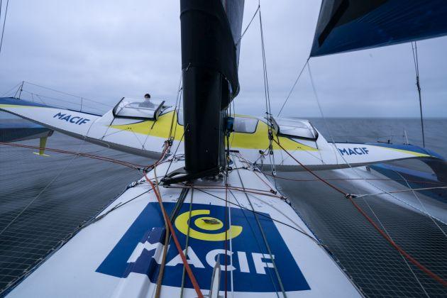 On board Macif. Photo Credit: Yann Riou / Macif.