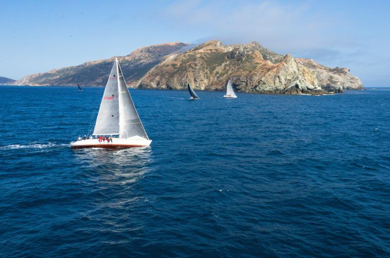 The West End of Catalina - last land seen before Hawaii - photo Sharon Green/Ultimate Sailing.