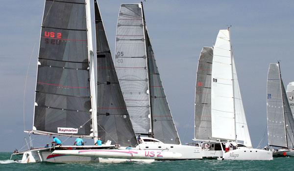 24 multihulls will race at Phuket Raceweek. Photo supplied.