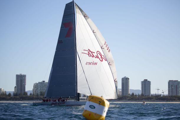 Wild Oats wins the Sydney-Gold Coast Race. Photo Credit Michael Jennings