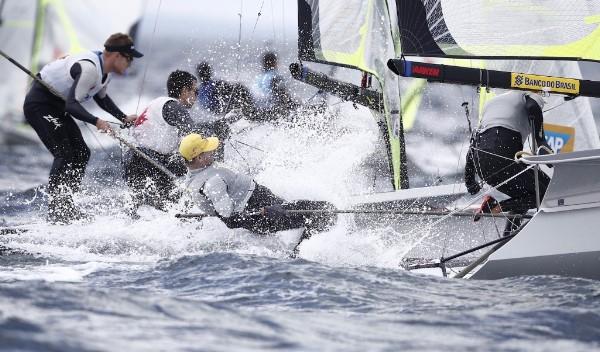 49er Europeans 2017. Photo Pedro Martinez/Sailing Energy.