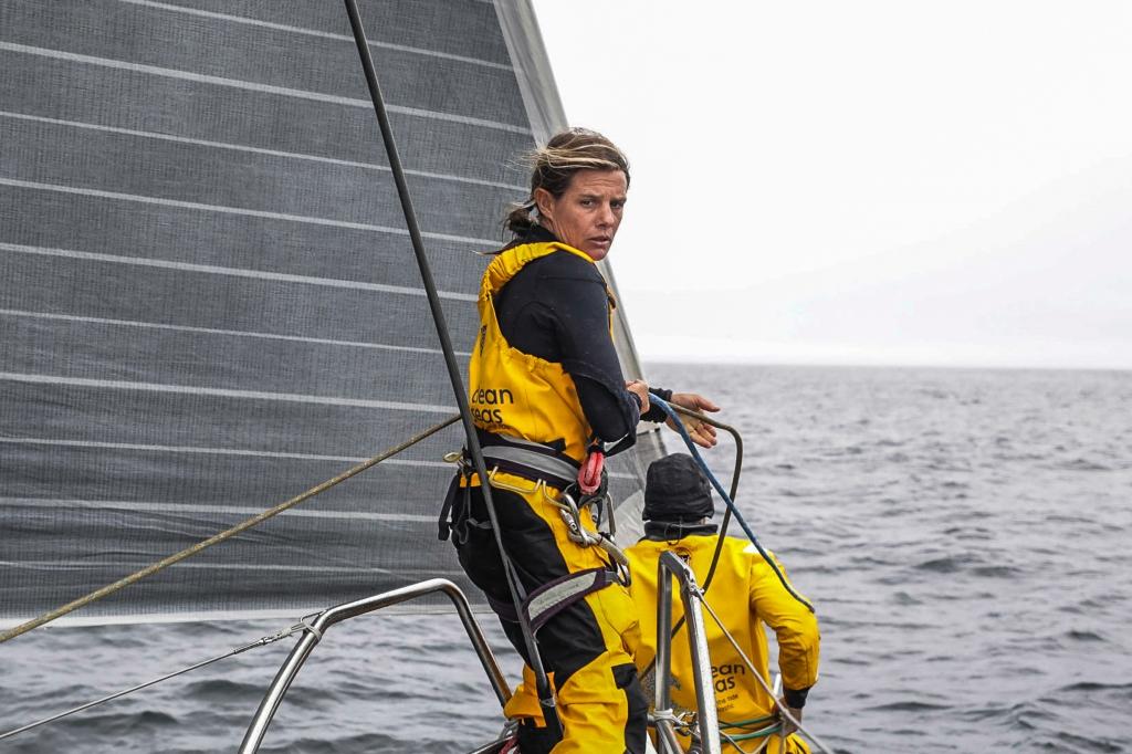 Liz Wardley. Photo Jen Edney/Volvo Ocean Race.