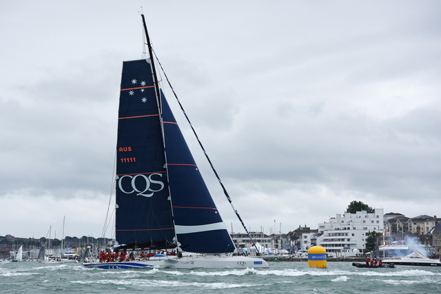 CQS finishes off Cowes. Photo CQS Media.