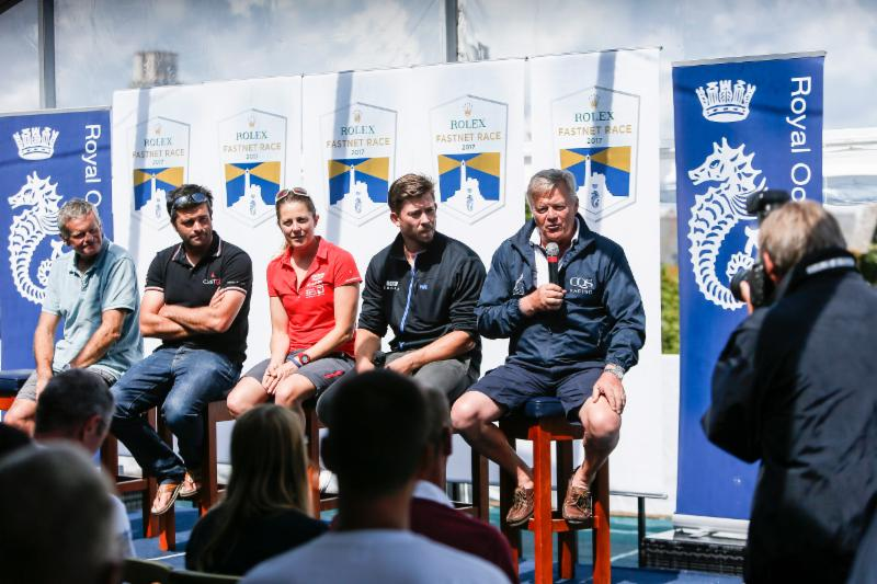 Ludde-Ingvall-right-and-other-skippers-face-the-media---Paul-Wyeth-RORC-pic