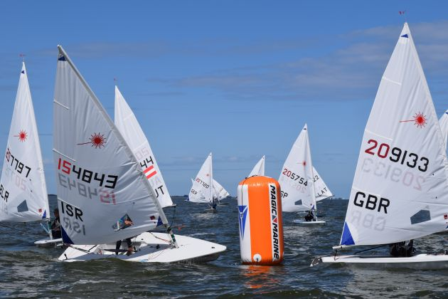 Laser Radial Youth Worlds. Photo ILCA.