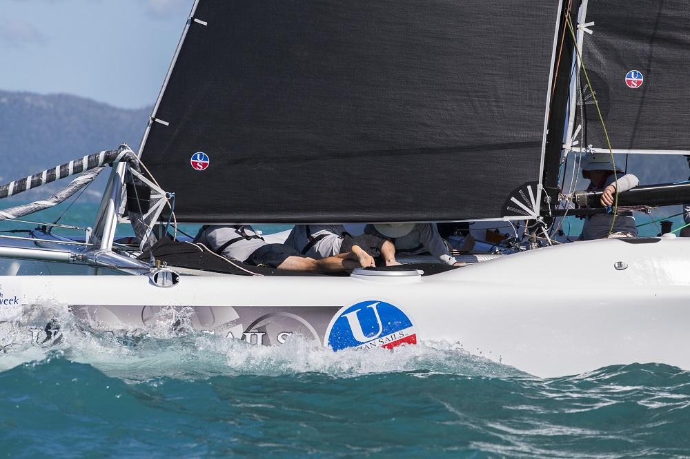 Ullman Sails in race mode - Andrea Francolini