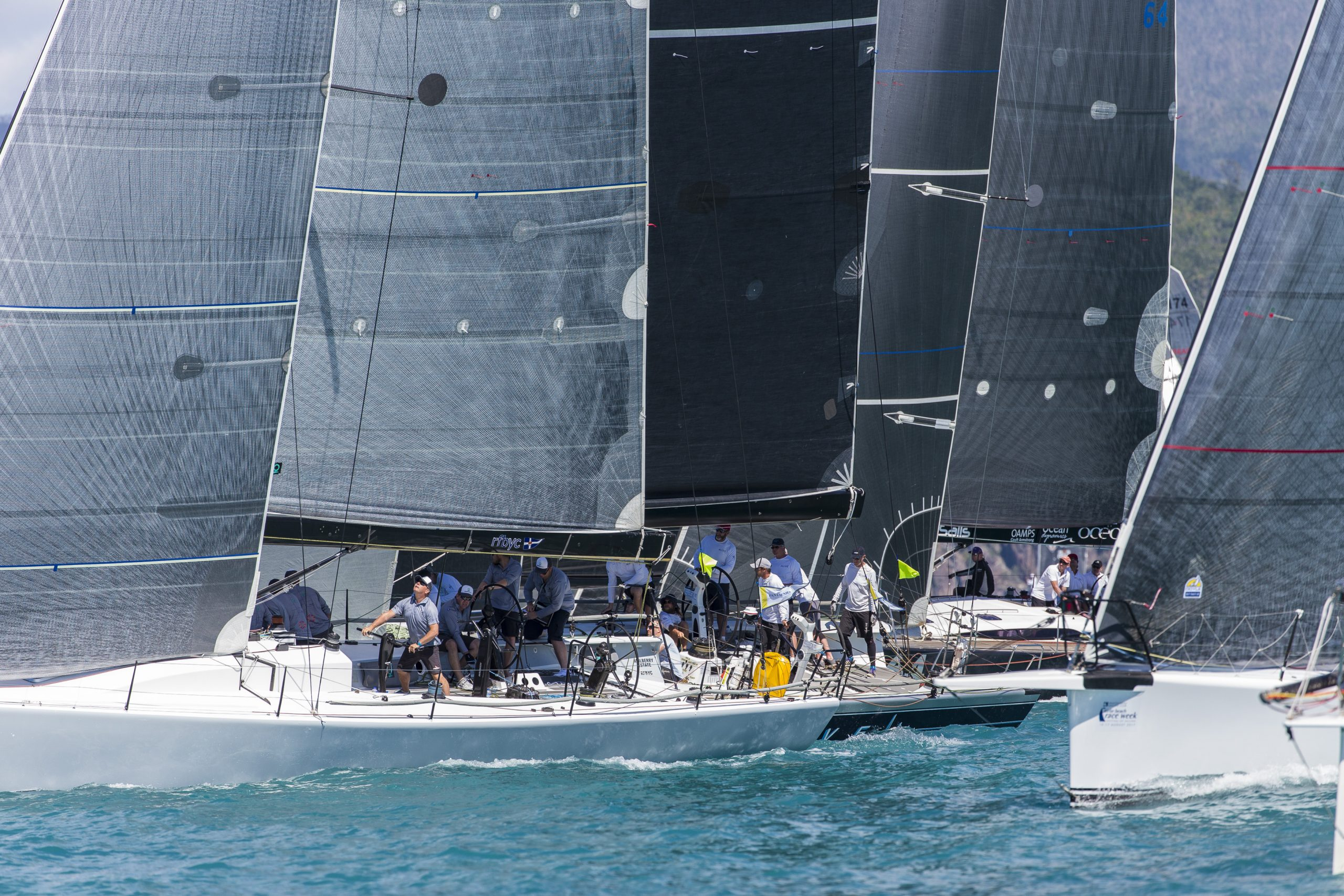 A wall of boats on the start line - Andrea Francolini