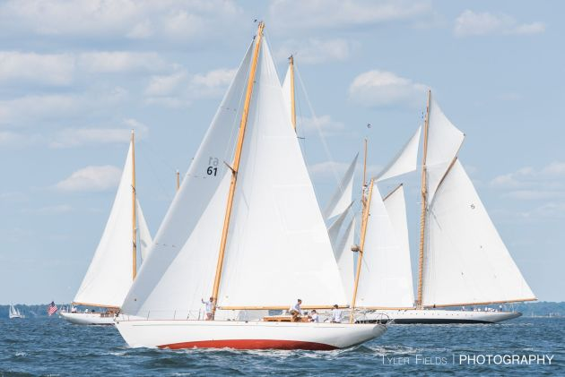 Panerai Newport Classic Yacht Regatta. Photo Tyler Fields.