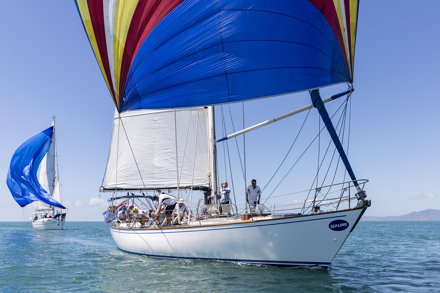 Beautiful Oasis took line honours for a third time - Andrea Francolini