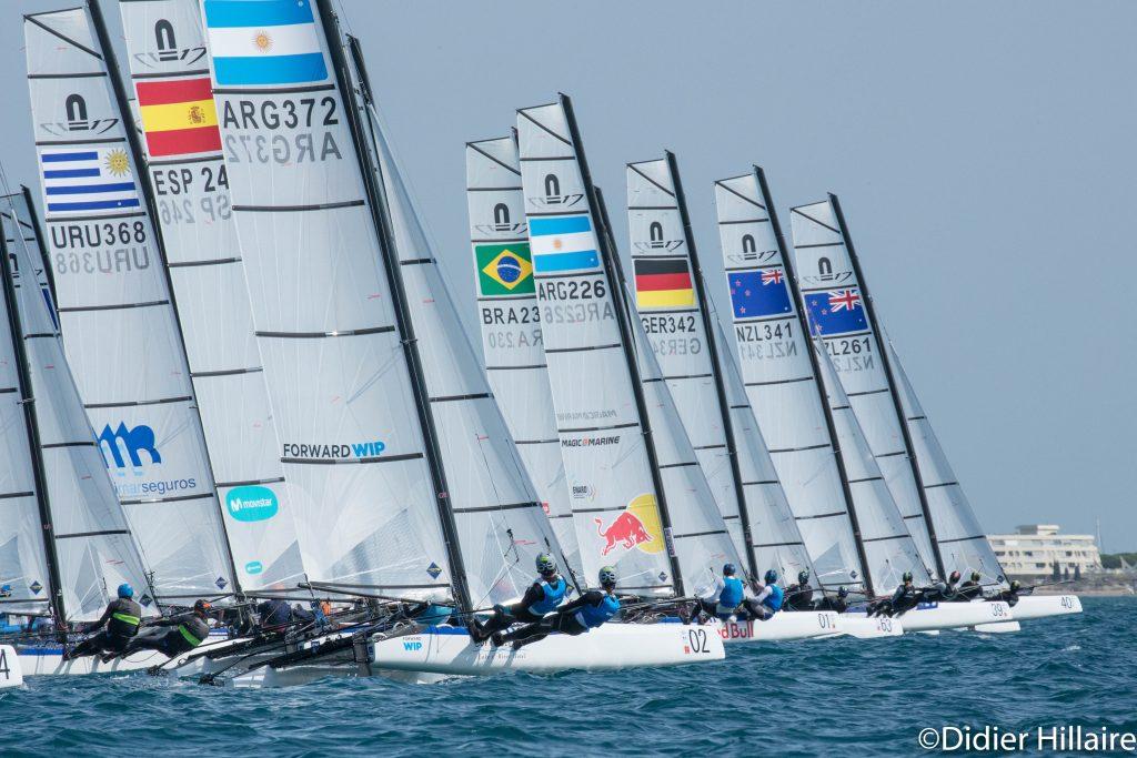 Nacra-17-World's-start---Didier-Hillaire-pic
