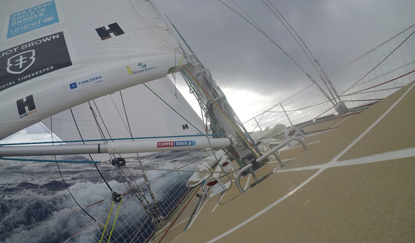 From Doldrums to sailing on a slant again