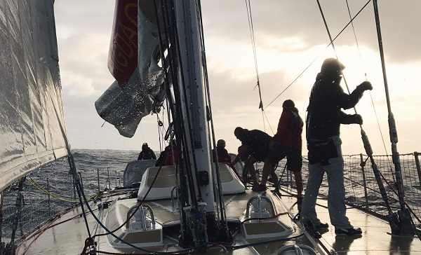 Qingdao in the Clipper Race.