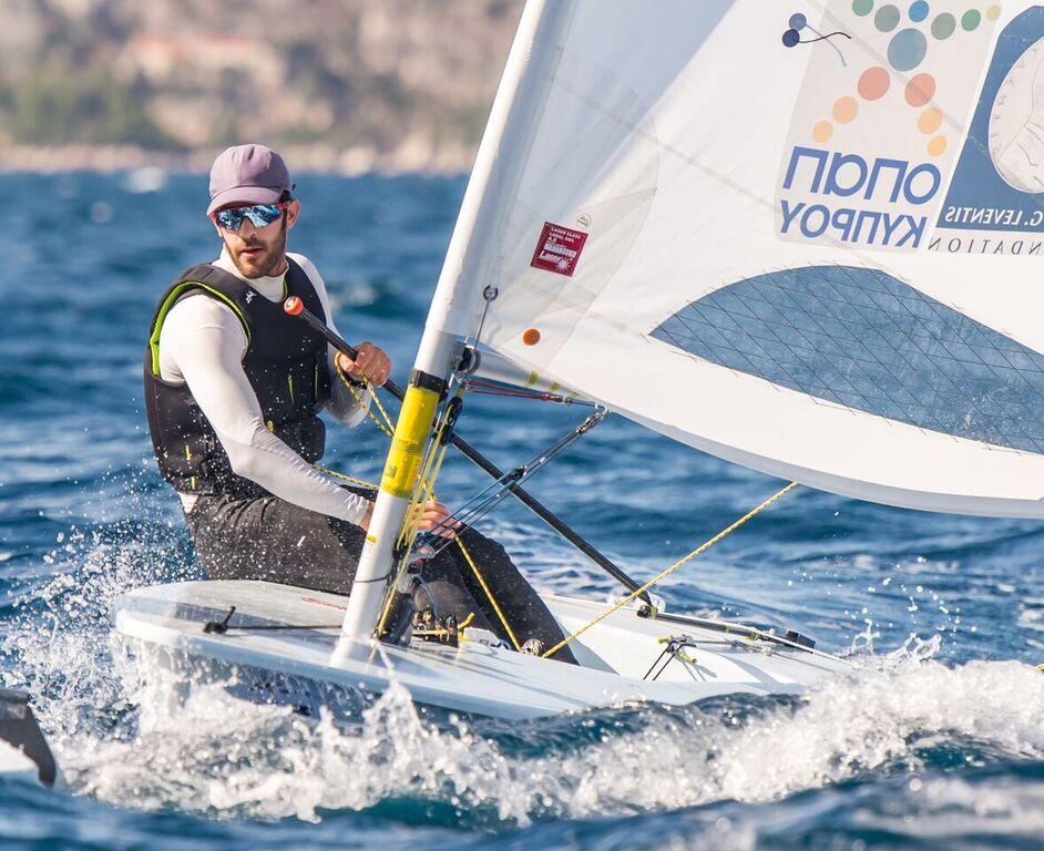 Pavlos Kontides wins the 2017 Laser Worlds. Photo ILCA.