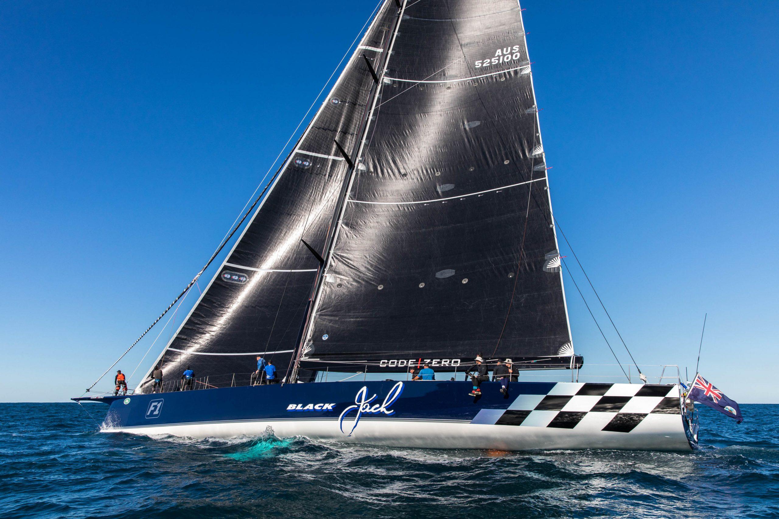 Black Jack in race mode - credit Andrea Francolini.
