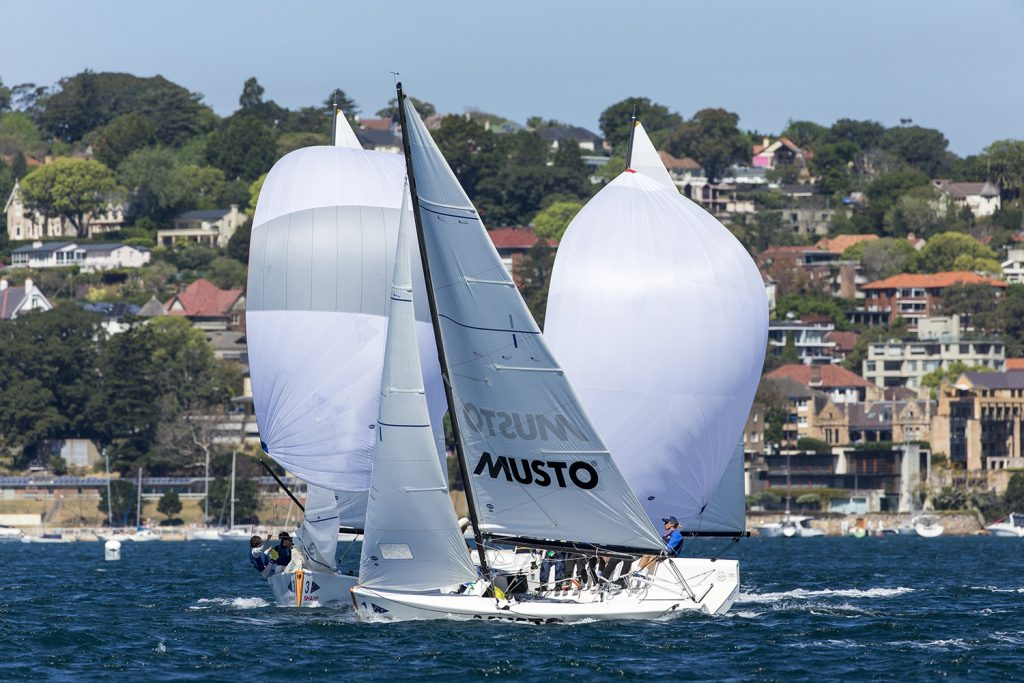 Youth Match Racing. Photo Andrea Francolini.