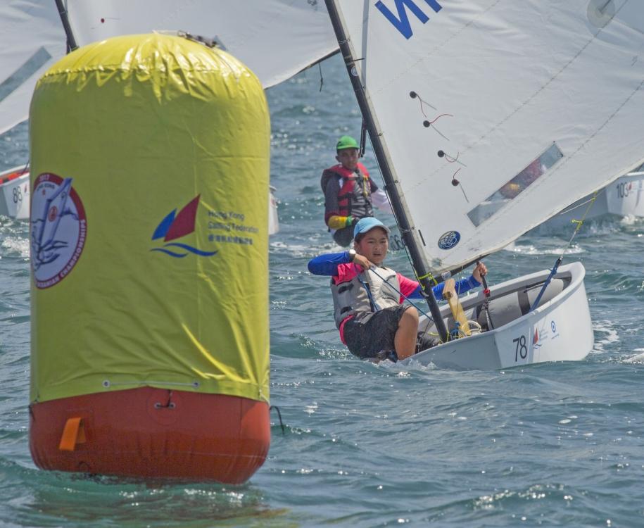 Optimist Asian and Oceanian Championsops. Photo Guy Nowell/RHKYC.