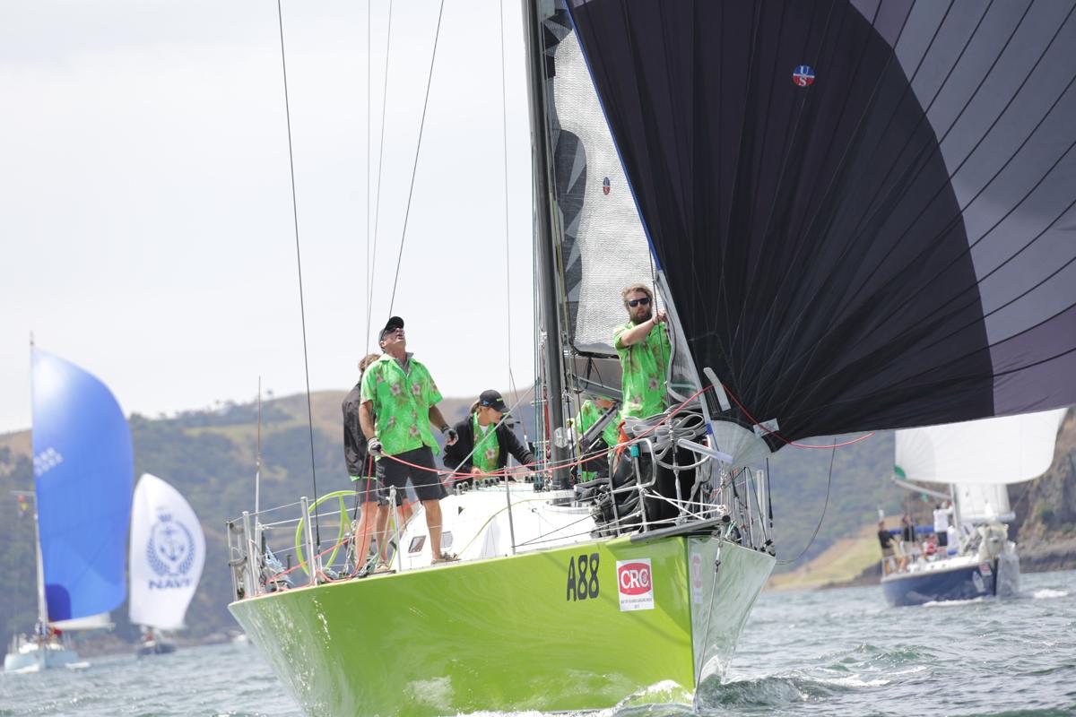 Bruce MacKay traveled from Australia to sail his boat Wasabi at Bay of Islands Sailing Week