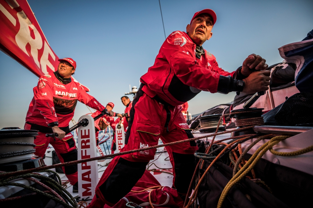 Prologue on board MAPFRE. 10 October. Photo Jen Edney/Volvo Ocean Race.