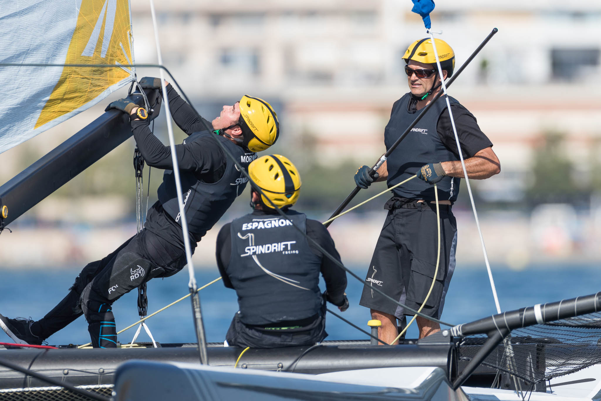 Aboard-Spindrift-Racing---Alicante-Match-Cup