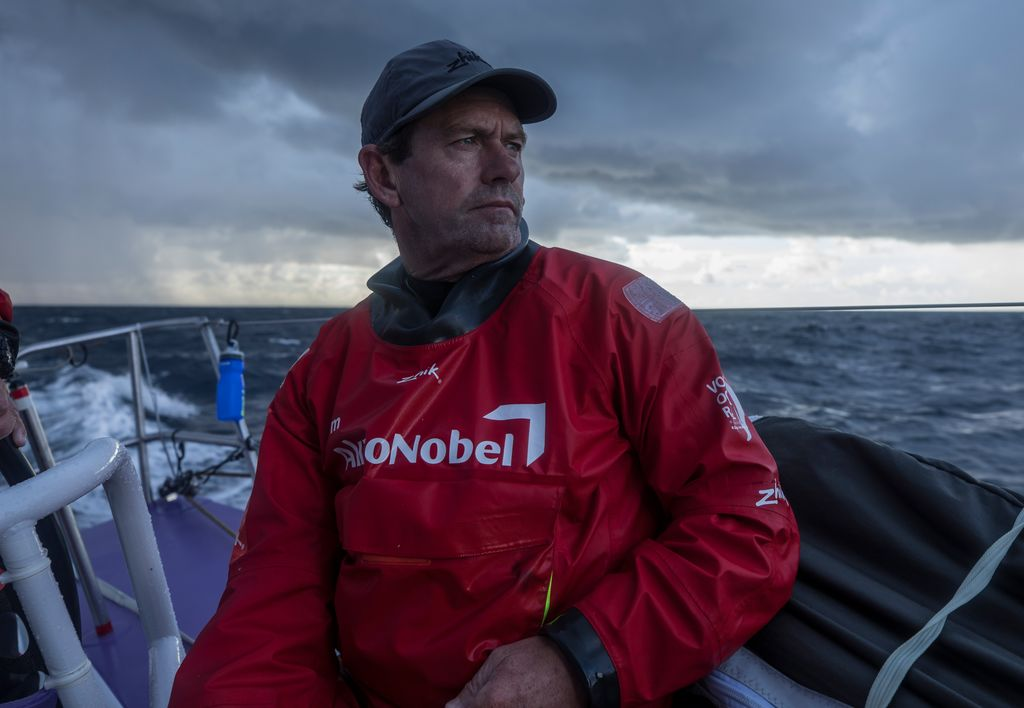 Brad Jackson (NZL) skipper team AkzoNobel in the Volvo Ocean Race 2017-18. Photo © James Blake / Volvo Ocean Race.