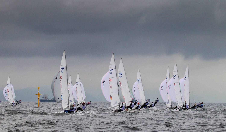 Sailing World Cup Japan. Photo Sailing Energy.