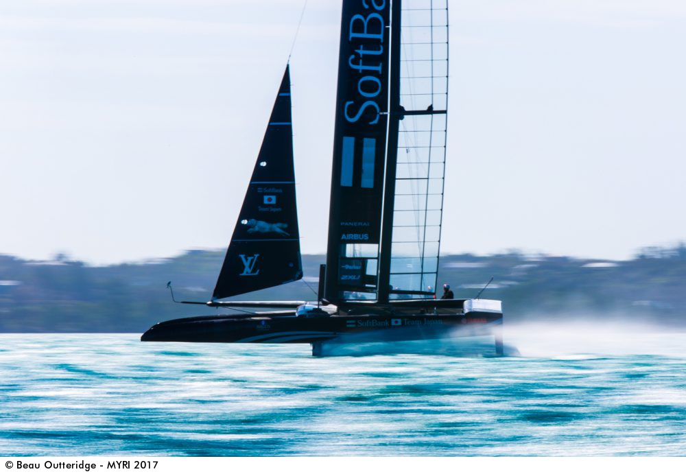 Beau Outteridge's entry in the Mirabaud Yacht Racing Image.