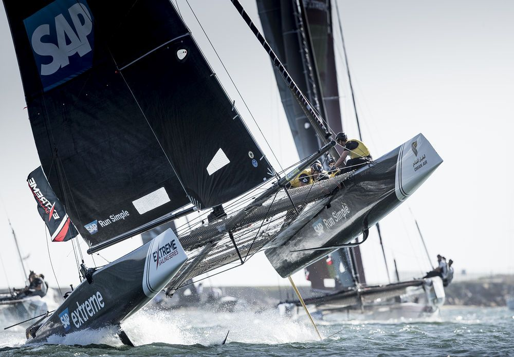 SAP Extreme Sailing Team topped the Act leaderboard on the penultimate day in San Diego