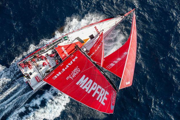 MAPFRE. Photo by Ainhoa Sanchez/Volvo Ocean Race. 22 October