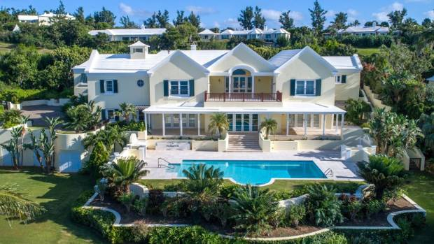 Jimmy Spithill's Bermuda mansion includes five bedrooms